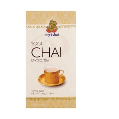 Herbal Tea Yogi Chai Spiced Tea  20 Tea Bags image