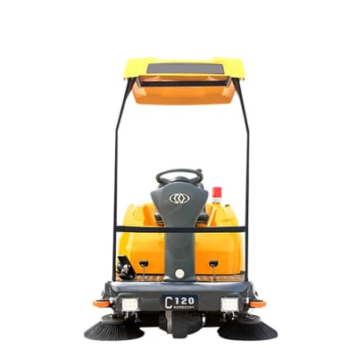 C120p Ride on Industrial Floor Sweeper  image