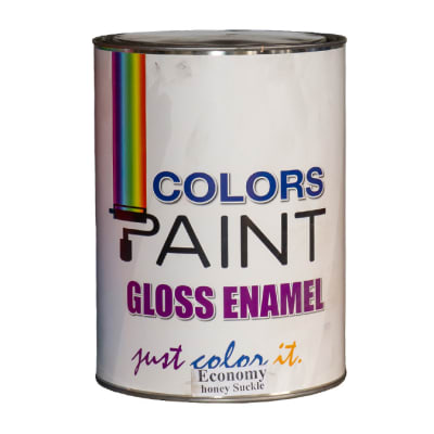 Colours Paint Gloss Enamel - Economy honey suckle image