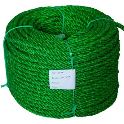 High Breaking Strength 3 Strands Green Nylon Rope image