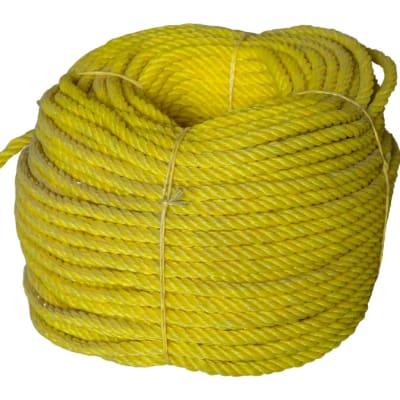 High Breaking Strength 3 Strands Yellow Nylon Rope  image