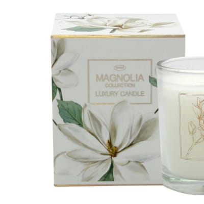 Magnolia Flower's by Jenam Luxury Candle image