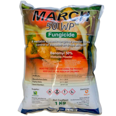 March 50 WP Benomyl 50% image