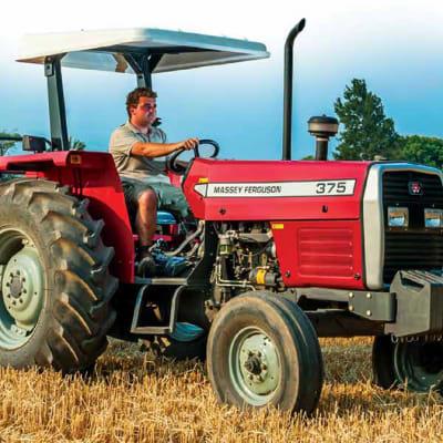 MF 375 XTRA 75 HP Tractor image
