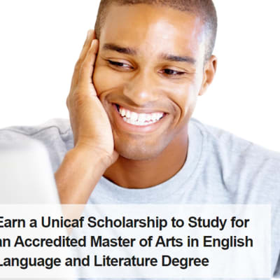 Master of Arts in English Language and Literature image