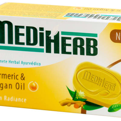 MediHerb Tumeric & Argan Oil Herbal Soap  image