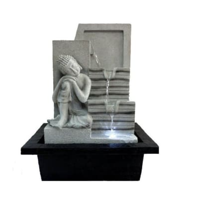 Water Feature  Buddha Statue Meditating image