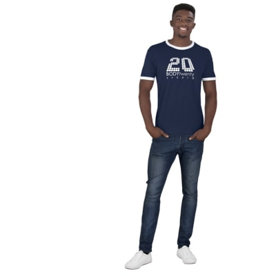 Mens Adelaide Contrast T-Shirt image