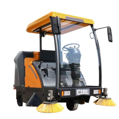 C180 Ride on Road Sweeper  image