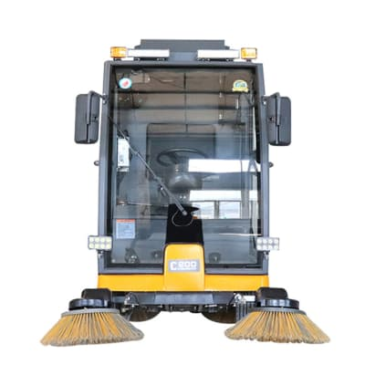 C200 Ride on Road Sweeper  image