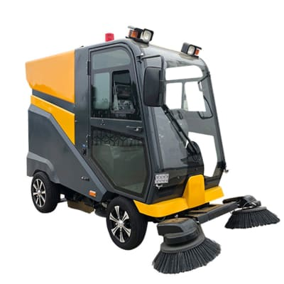 C210 Ride on Road Sweeper  image