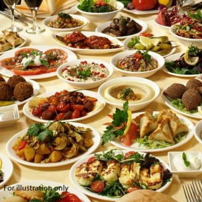 Banquet and Wedding Menu - Option 2 image