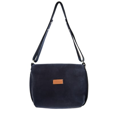 Mini day bag in leather image