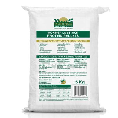 Moringa Livestock Protein Pellets 5kg image