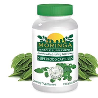 Moringa Superfood Capsules image