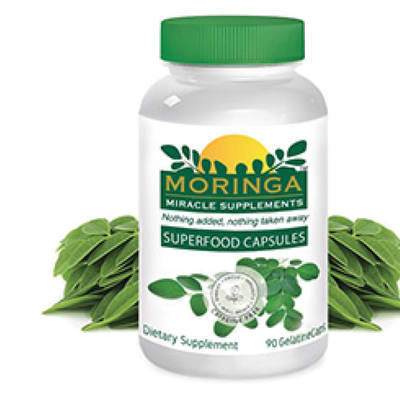 Moringa Superfood Capsules image
