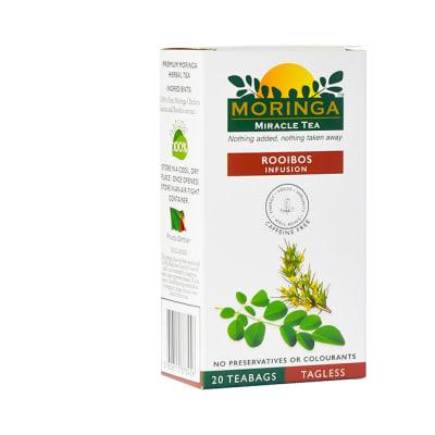 Herbal Tea  Organic Superfood Moringa  Tea Rooibos Infusion  image