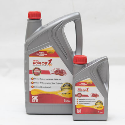 Meru Force 1 - Diesel Engine Oil SAE 15W-40 API CI-4 image