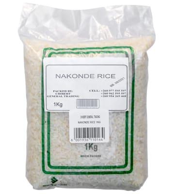 Nakonde White Rice  image