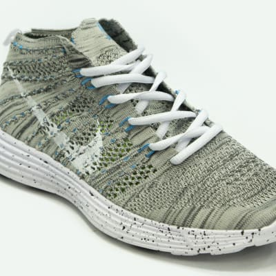 Nike - Grey & white sneakers image