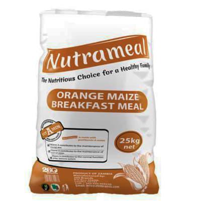 Nutrameal Orange Maize  Breakfast Meal 25kg image
