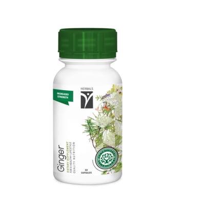 Nutriherb  Ginger  Dietary Supplement Capsules image