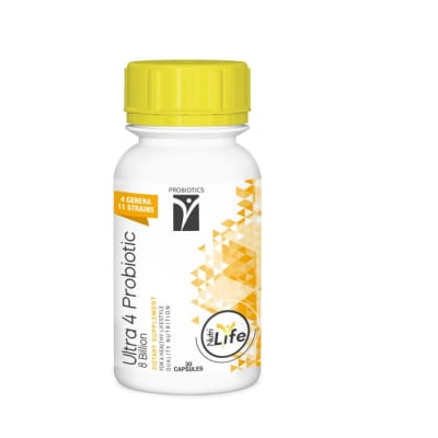 Ultra 4 Probiotic  Dietary Supplement 30 Capsules  image
