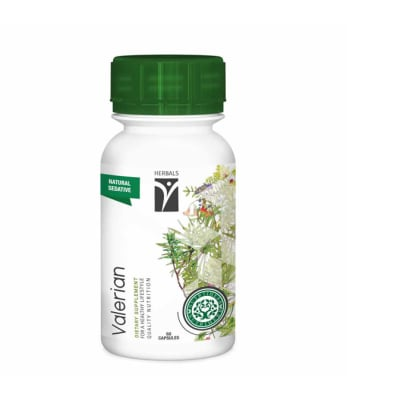 Valerian  Dietary Supplement  60 Capsules  image