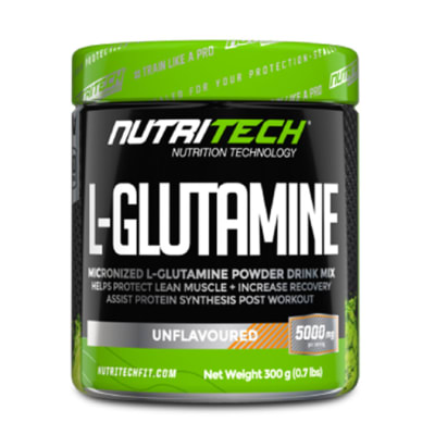Nutritech L-Glutamine image