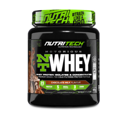 Nutritech Notorious NT Whey image