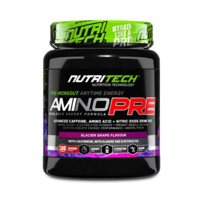 Nutritech  Amino Pre Glacier Grape  image