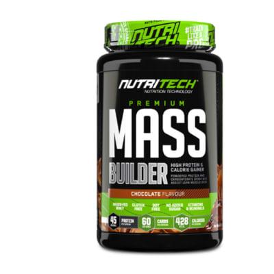 Nutritech  Premium Mass Builder  Chocolate Flavour 1.5kg image