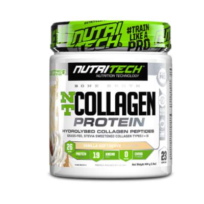 Nutritech Nt  Collagen Protein  Vanilla Softserve  image
