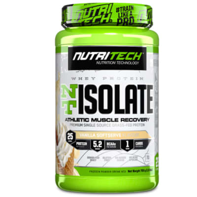 Nutritech Nt Whey Protein Isolate Vanilla Softserve  image