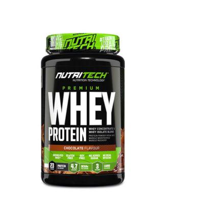Nutritech  Premium Whey Protein Chocolate Flavour  image