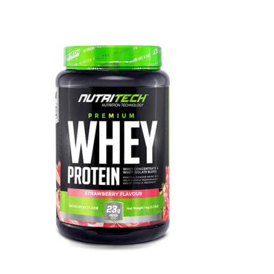 Nutritech  Premium Whey Protein Strawberry Flavour image