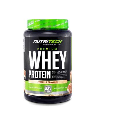 Nutritech  Premium Whey Protein Vanilla Flavour 1kg  image