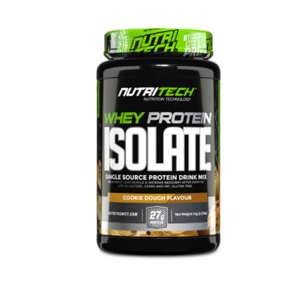 Nutritech  Whey Protein Isolate  Cookie Dough  image