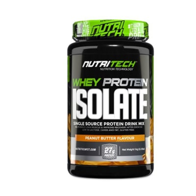 Nutritech  Whey Protein Isolate  Peanut Butter  image