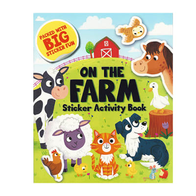On the Farm Sticker  Activity Book  image