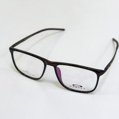Oakley Full Rim Rectangular Eyeglass Frames - Black  image