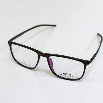 Oakley Full Rim Rectangular Eyeglass Frames - Black  image