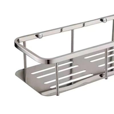 Bathroom shelf - Brushed matte steel shower caddy  N100 E image