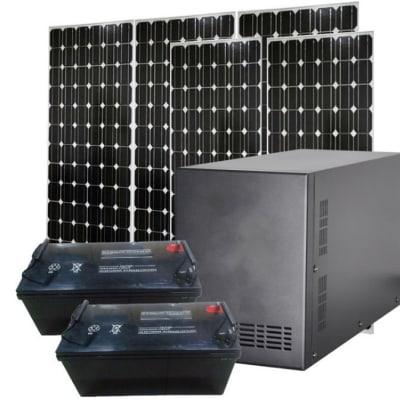 Solar Power System 2kw 2.5kw 3kw image