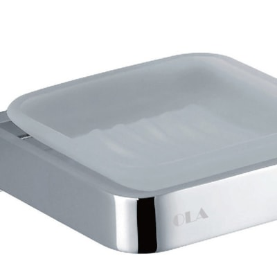 Bathroom soap holder - Polished chrome copper soap holder 28004# image