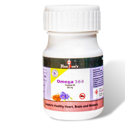 Hanson's Omega 3-6-9 Flaxseed Oil image