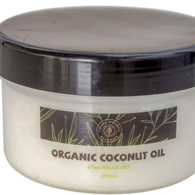 Organic Hair Care Coconut Oil 250ml  image