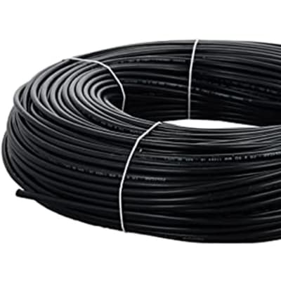 PVC Insulated Copper Electric Cable -Black Single Core (2.5mmx100m & 10mmx100m) image