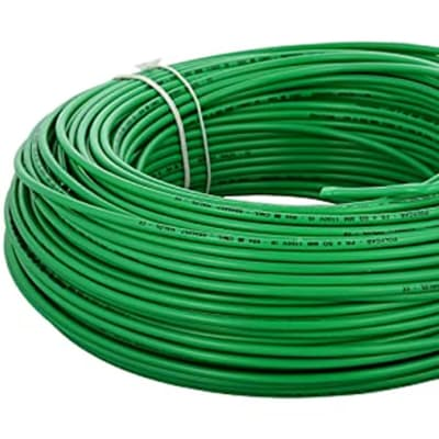 PVC Insulated Copper Electric Cable - Green Single Core (2.5mmx100m & 10mmx100m) image