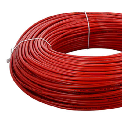 PVC Insulated Copper Electric Cable - Red SIngle Core (2.5mmx100m & 10mmx100m) image